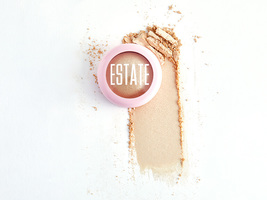ESTATE COSMETICS Dew Me Baked Highlighter in Lit