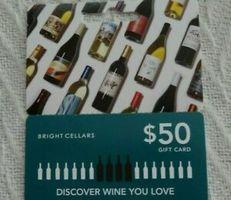 Bright Cellars $50 Gift Card