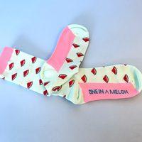 Socks Watermelon Sweet Feet Crew Socks