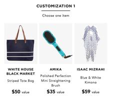Isaac Mizrahi Blue & White Kimono