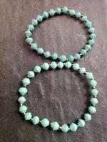 21 bit bracelets - set of 2