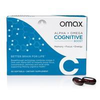 Omax Alpha + Omega Cognitive Boost