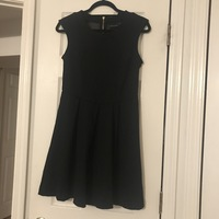 Cynthia Rowley Black Flare Dress - Small