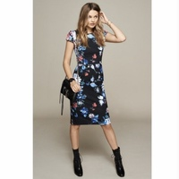 Betsey Johnson Navy Floral Dress