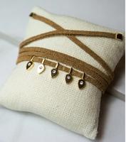 Jules Smith - Eclipse Wrap Bracelet in Brown
