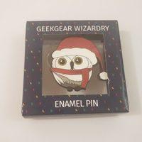 Festive Owl Pin
