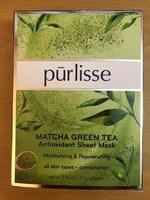 Purlisse Matcha Green Tea Antioxidant Sheet Mask