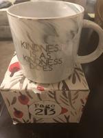 """""""Kindness is as kindness does"""" mug"""
