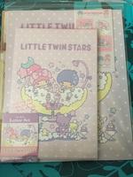 Little Twin Stars letter set