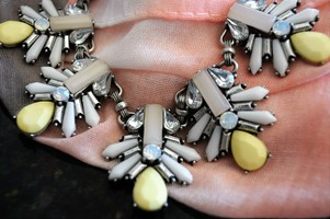 Blair Statement Necklace in Silver
