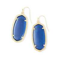 Kendra Scott Elle Earrings in Navy