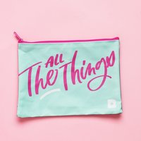 "Birchbox ""All The Things"" makeup bag"