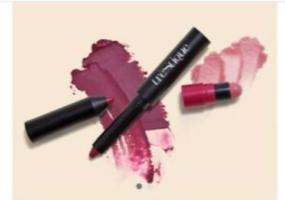 Trestique Matte Color + Shiny Balm Lip Crayon In Belize Bordeaux & Grenache Balm