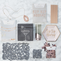 Happy Rebel Fall Box-Rose Gold Party Collection