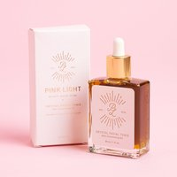 Pink Light Crystal Facial Tonic Skin Illuminating Oil
