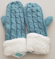Teal Mittens