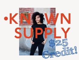 Known Supply Online Credit
