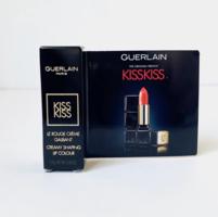 Guerlain KissKiss Creamy Satin Finish Lipstick in Sexy Coral