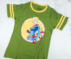 Captain Marvel Varsity Shirt