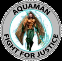 Aquaman Challenge Coin