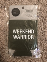 """Weekend Warrior"" Can Koozie by Aboutface Designs"