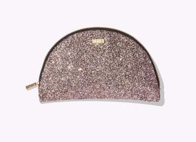 Tarte Glitter Half Moon Makeup Bag
