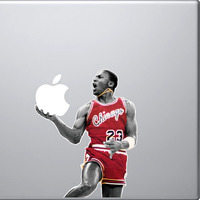 Michael Jordan Mac Decal