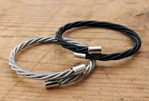 Bass Guitar Bracelet (Black)