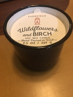 Paddywax Wildflower and Birch soy candle