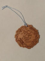 The Raven boys wooden ornament