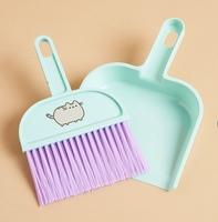Pusheen dust pan and broom