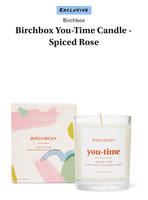Birchbox Spiced Rose Candle