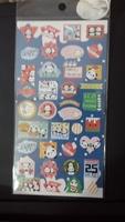 Panda Christmas Stickers