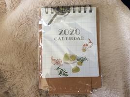 Mini 2020 Desktop Calendar