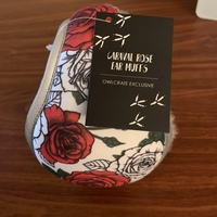 Owlcrate Caraval Rose Ear Muffs