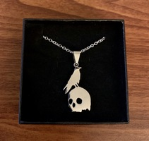 OwlCrate Raven Pendant Necklace