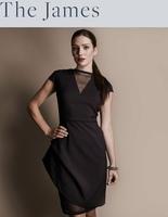 "Elizabeth & Clarke ""The James"" Dress (Black, size 12)"