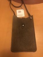 Midi queen leather purse