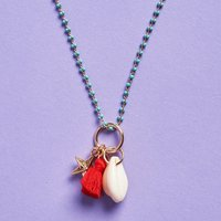 Fresh Produce Shell Necklace