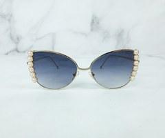 Pearl edged sunglasses