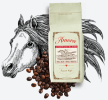 Vigorosi Blend Whole Bean Boldly Roasted Coffee
