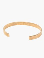ABLE She's Worth More Engraved Cuff