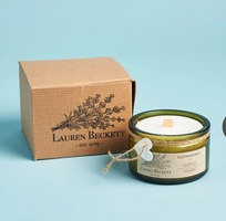 Lauren Beckett Coconut Wax Candle in 'Old Fashioned'