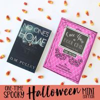 No One's Home book plus 1 of the 2 items Halloween special edition