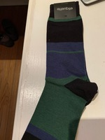 etiquette men's striped socks