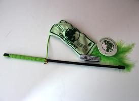 Cash Meowny Catnip Wand Toy