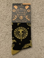 Out of Print Crooked Kingdom Socks