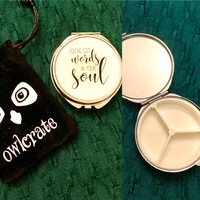 OwlCrate Compact Pocket Mirror