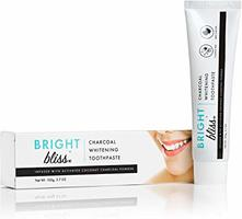Bight Bliss charcoal whitening toothpaste