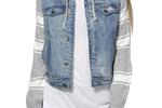 Thread & Supply distressed jean jacket